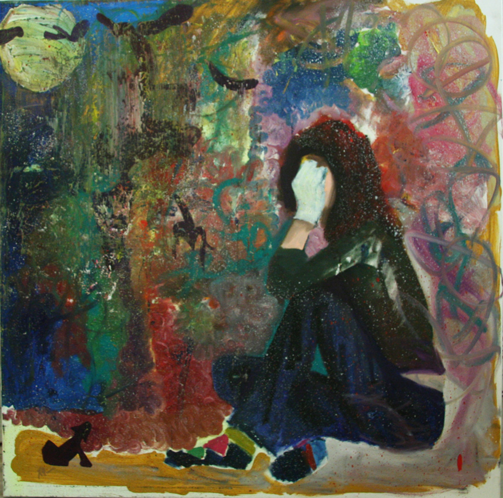 Searching Within - 100cm x 100cm