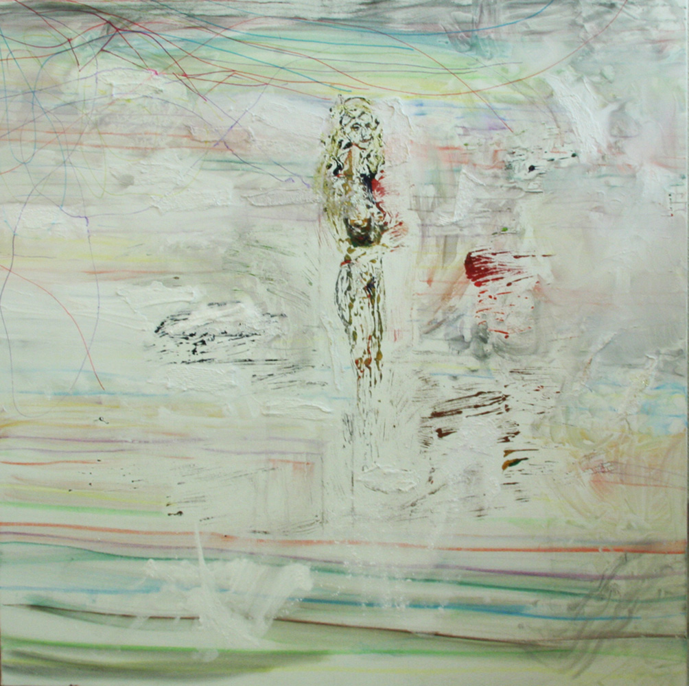 Girl by the Sea - 100cm x 100cm
