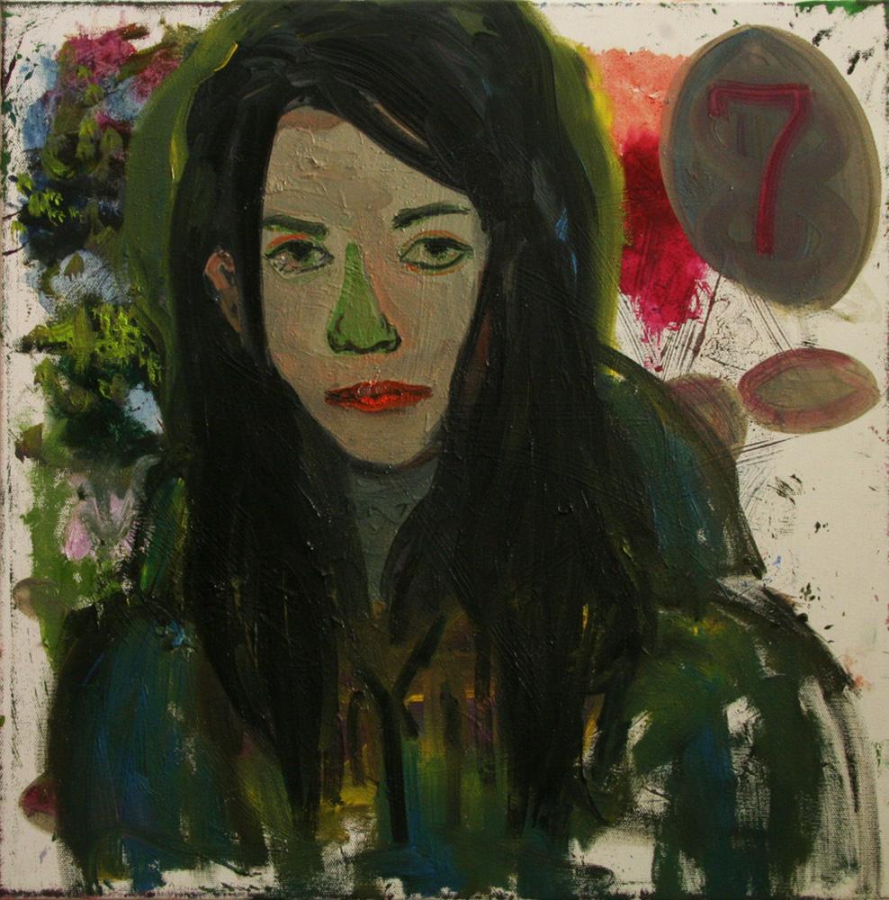 Self Portrait - 50cm x 50cm