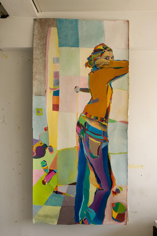 Self Portrait - 186cm x 86cm