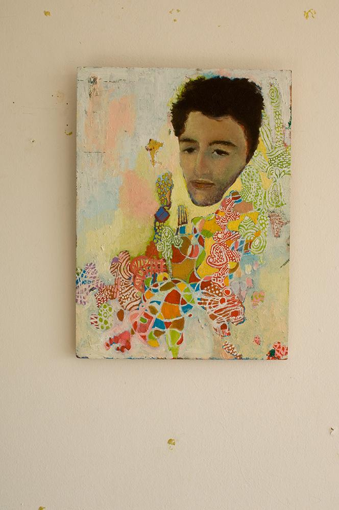 Portrait of Georgie - 37cm x 27cm