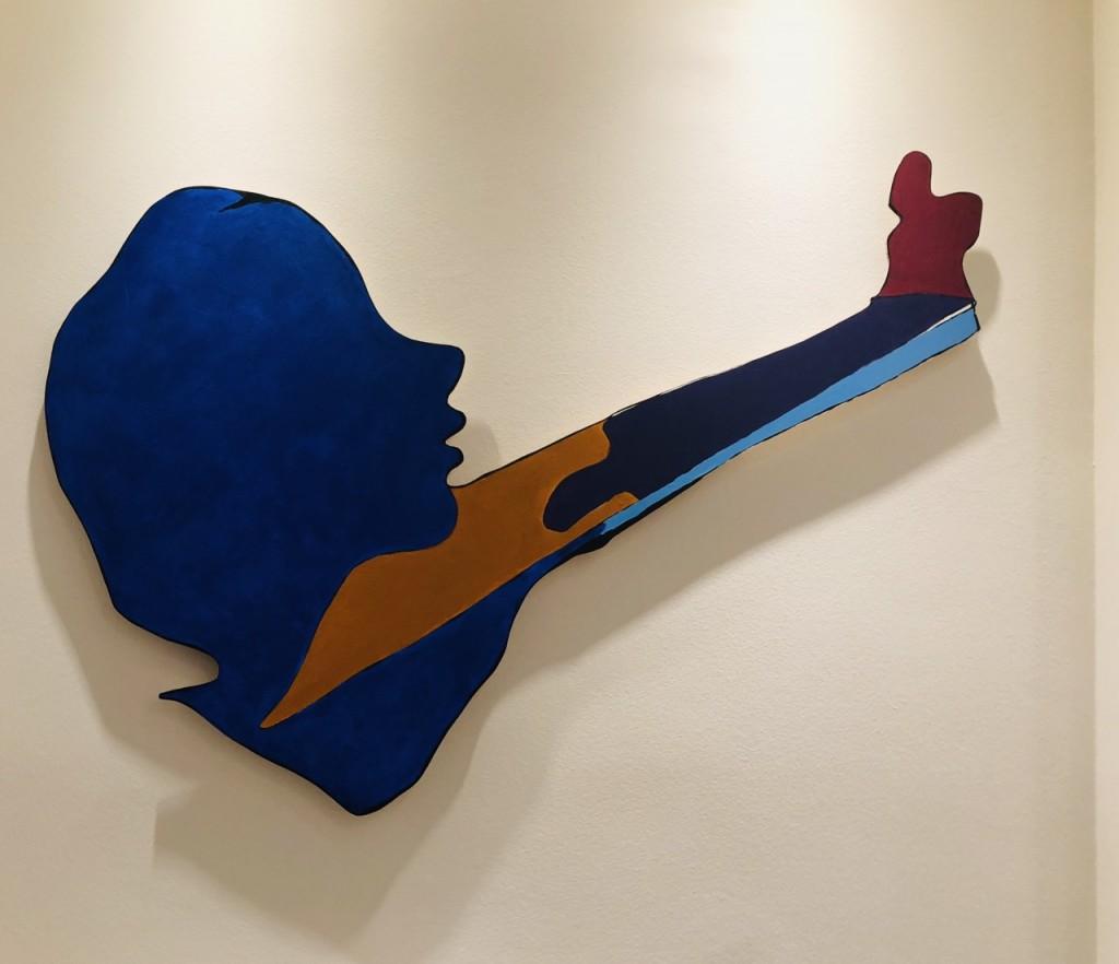 80cm x 115cm - Acrylic on wood Cutouts